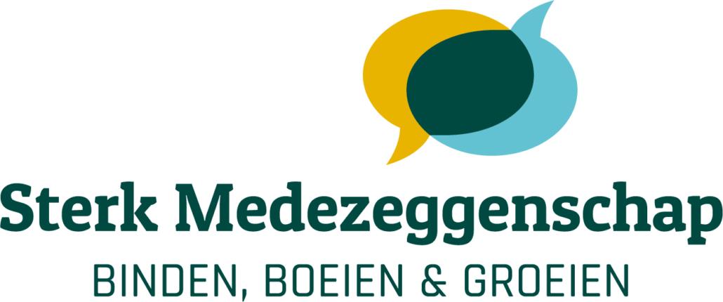 Logo Sterk Medezeggenschap - Binden, boeien en groeien